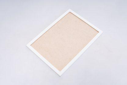 White frame full view