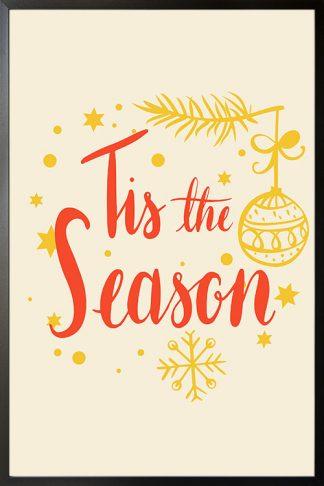 Tis the Season holiday poster