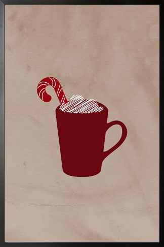 Holiday Merry Cup Poster