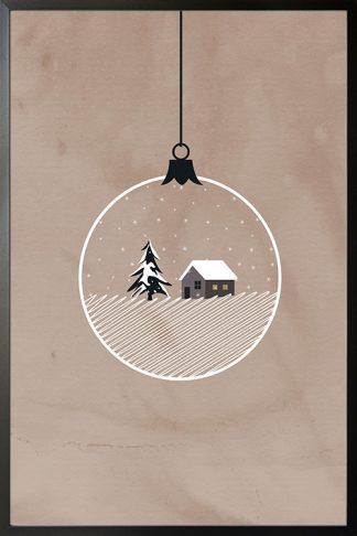Holiday Ball of winter poster