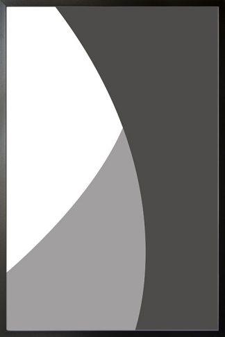 Abstract gray tone no.8 poster