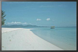 Landscape photography beach poster