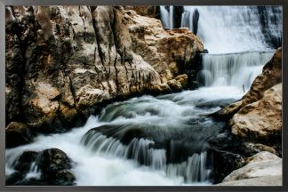 Falls and streams photography poster