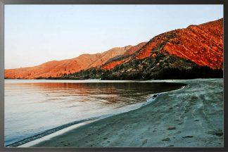 Natural landscape photography poster