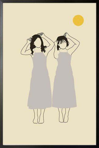 Twinnings art print poster