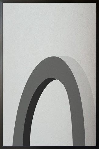 Abstract shapes ang texture no.1 Poster