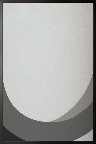 Abstract shapes ang texture no.2 Poster