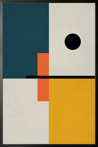 Abstract solid Poster