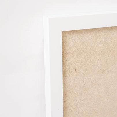 white poster frame from artdesign