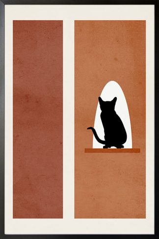 Cat art no.1 Poster