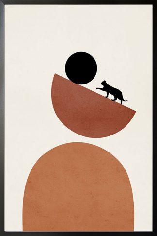 Cat art no.3 Poster