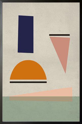 Artprint shapes no. 1 Poster