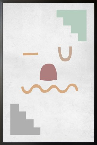 Artprint shapes no.2 Poster