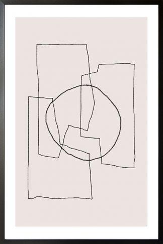Art lines no. 2 poster