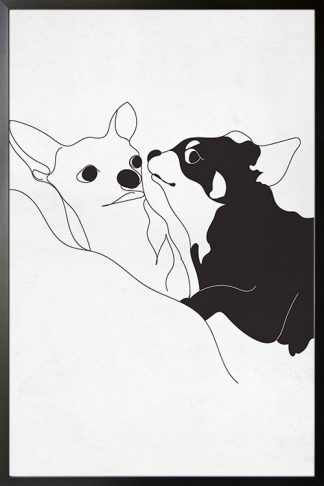 Cute dogs Poster