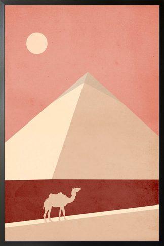 Graphic Desert 1 Poster