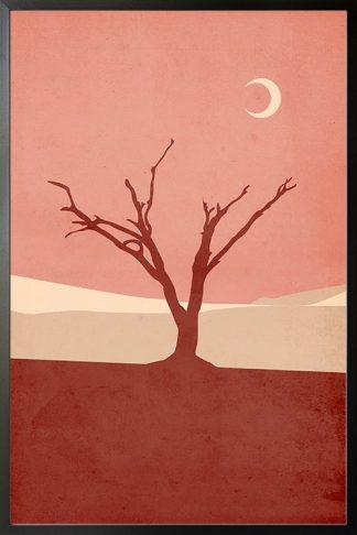Graphic Desert 2 Poster