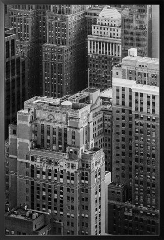 B&W Skyscraper Poster