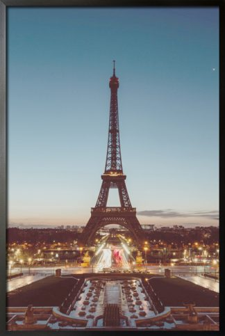 Eiffel tower photo aesthetic poster