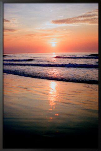 Aesthetic beach photo poster