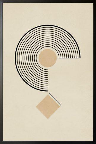 Circular Graphic no. 1 poster