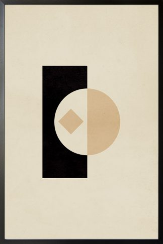 Circular Graphic no. 3 poster