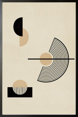 Circular Graphic no. 4 poster