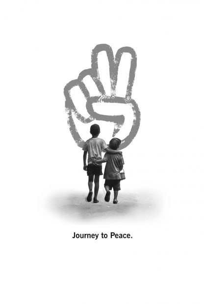 Journey to peace poster