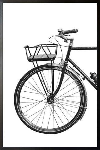 B&w vintage bike 2 poster