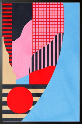 Abstract Collage no. 5 poster
