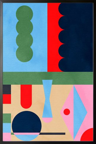 Abstract Collage no. 6 poster