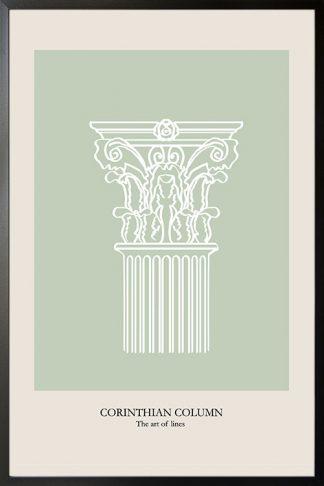 Corinthian Column poster