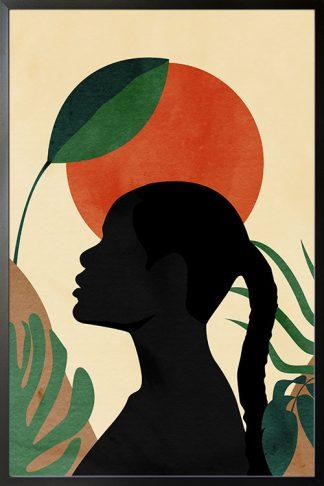 Lady in safari no. 1 poster