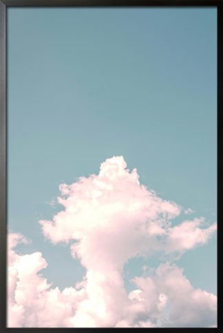 Clouds aesthetic poster