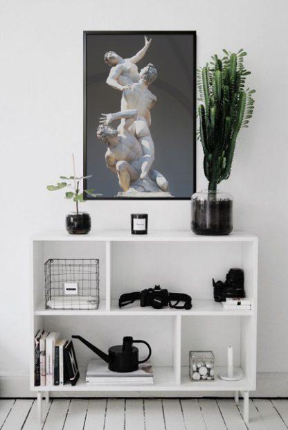Sculpture no. 2 poster in interior