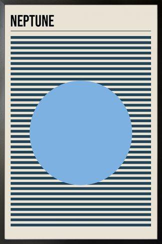 Neptune minimal poster