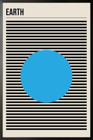 Earth minimal poster