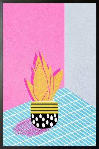Contemporary art plant no. 1 poster