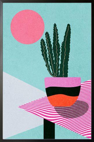 Contemporary art plant no. 2 poster