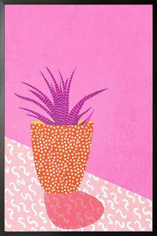 Contemporary art plant no. 3 poster