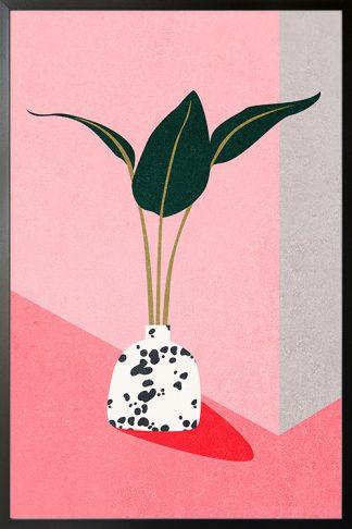 Contemporary art plant no. 4 poster