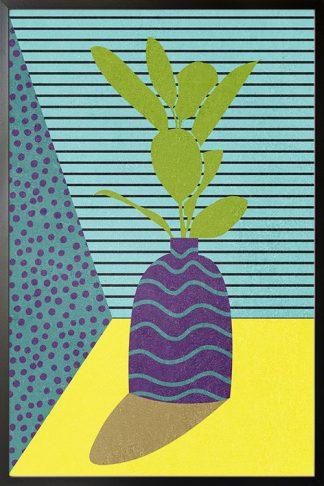 Contemporary art plant no. 5 poster