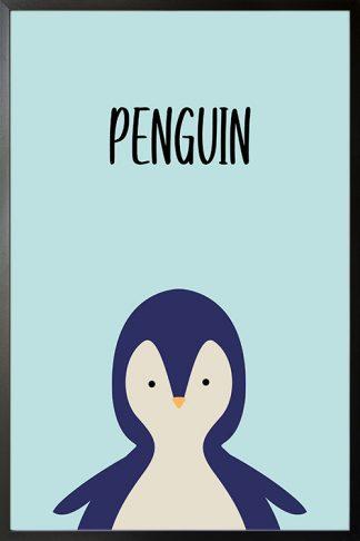 Cutie penguin poster
