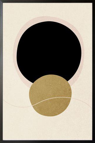 Abstract Minimal tone and shape no. 3 poster