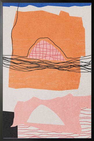 Abstract hand drawn no. 2 poster