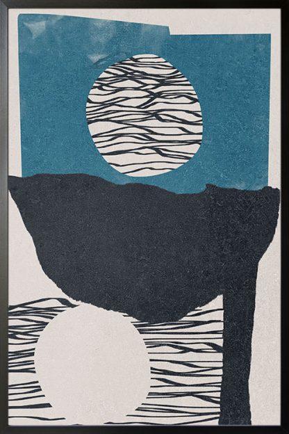 Abstract hand drawn no. 3 poster