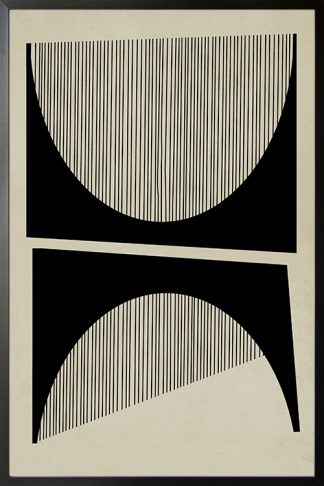 Abstraction and lines no. 1 poster