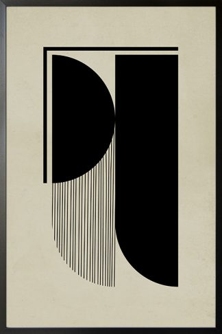 Abstraction and lines no. 2 poster