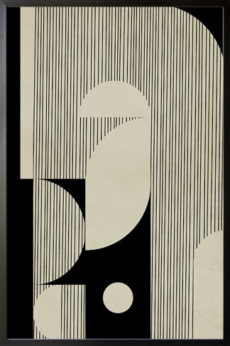 Abstraction and lines no. 4 poster