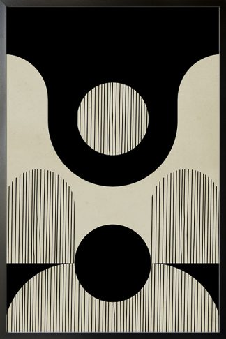 Abstraction and lines no. 5 poster